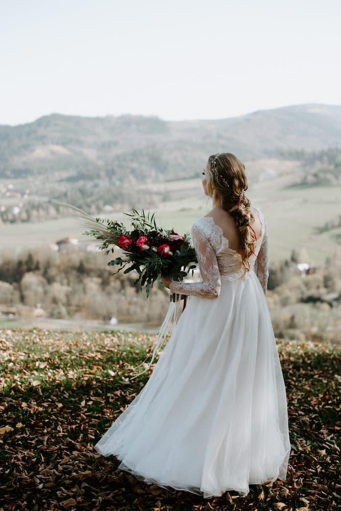 Nevěsta - podzimní svatba v Besykdech