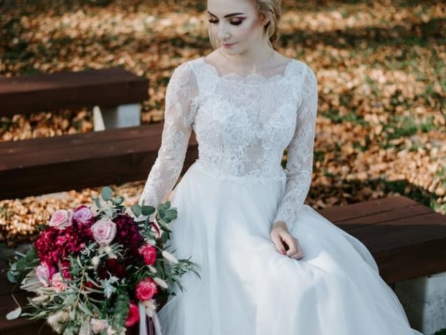Nevěsta se svatební kyticí II