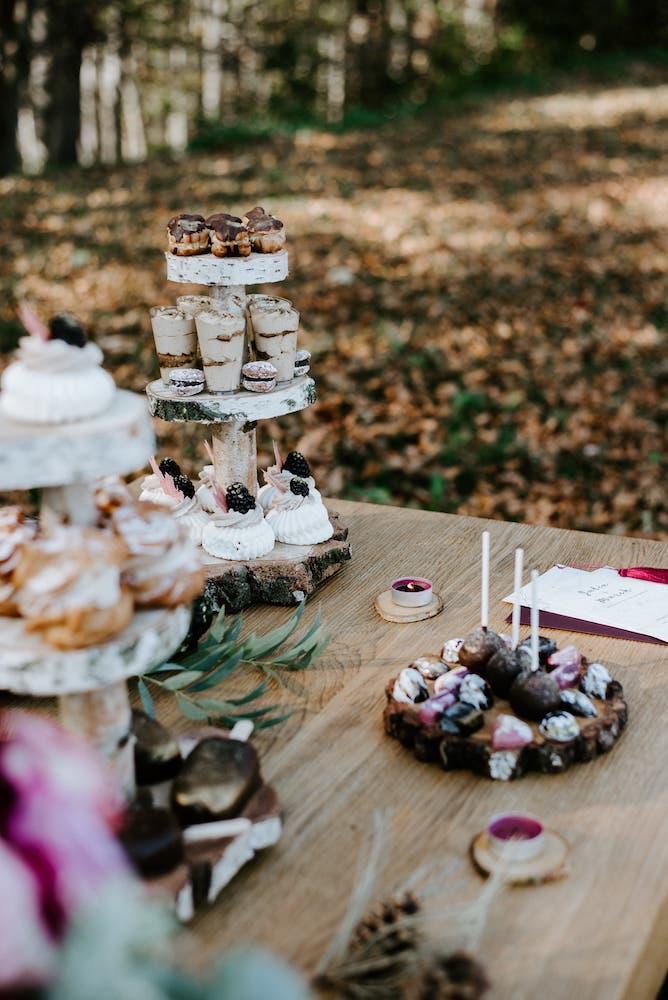 Svatební candy bar - detail III