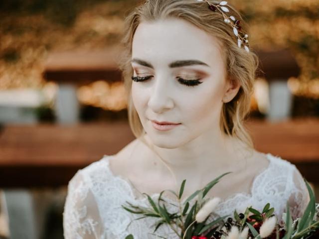 Svatební make up nevěsty - podzimní svatba