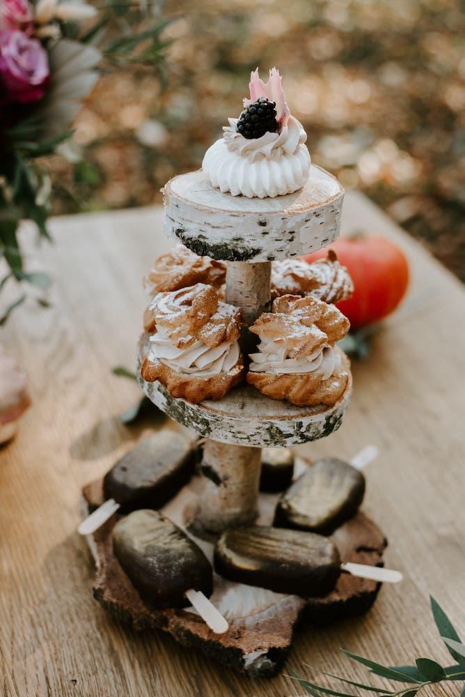 Svatební mini dezerty