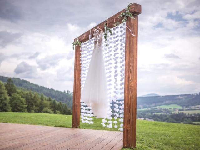 Svatební slavobrána  - Resort Nová Polana