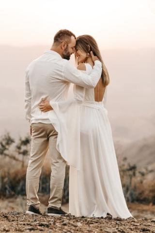 Boho svatební šaty 2
