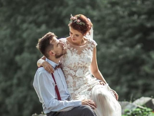 Boho svatební šaty 3