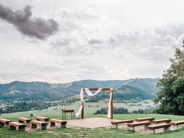 Svatební louka Resortu Nová Polana