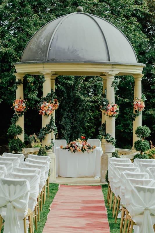 Kapličky patří také k oblíbeným místům pro boho svatby