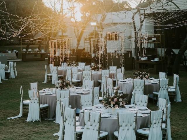 Svatební garden party