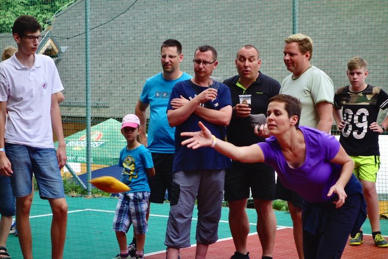 Firemní akce v Resortu Nová Polana - soutěž v cornhole